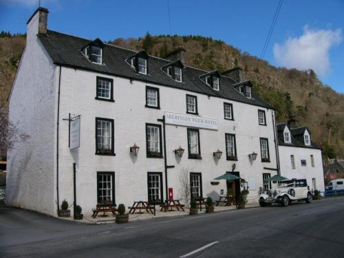 Aberfeldy Weem Hotel in Aberfeldy, Perth and Kinross, Central Scotland