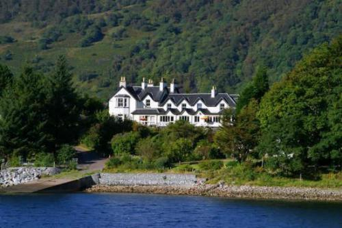 The Loch Leven Hotel in Onich, Highland, Highlands Scotland