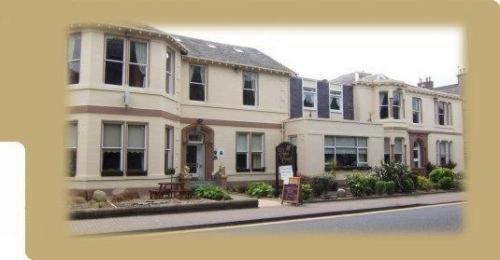 The Elms Court Hotel in Ayr, Ayrshire, South West Scotland