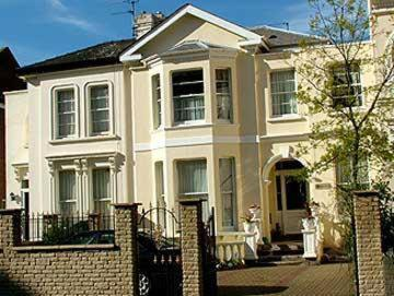Mayville House in Cheltenham, Gloucestershire, South West England