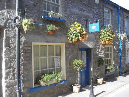 Blue Pig in Kirkby Lonsdale, Cumbria, North West England