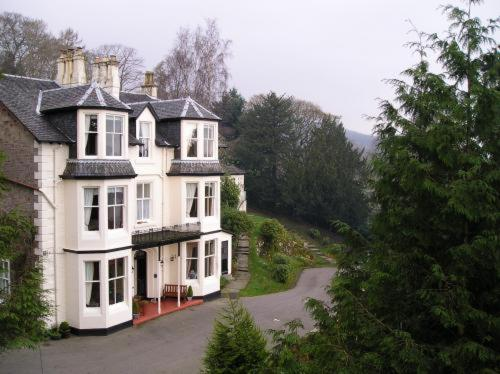 Abbots Brae Hotel in Dunoon, Argyll and Bute, West Scotland
