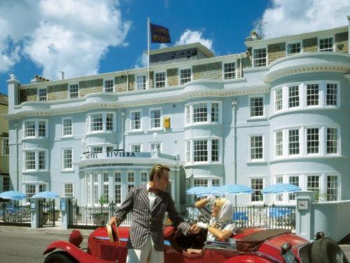 Hotel Riviera in Sidmouth, Devon, South West England