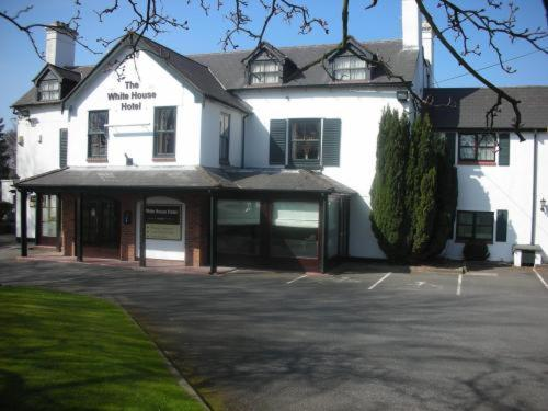 The White House Hotel in Telford, Shropshire, West England
