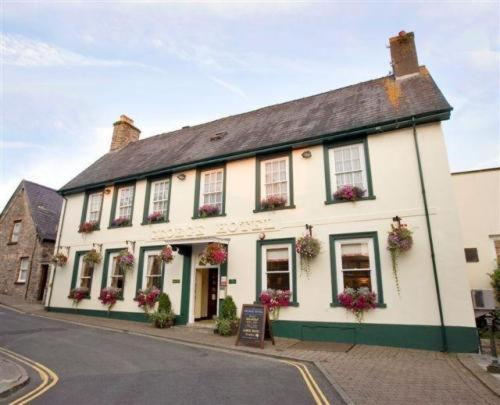 The George Hotel in Brecon, Powys, Mid Wales