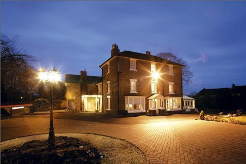 Grove House Hotel in Wellington, Shropshire, West England