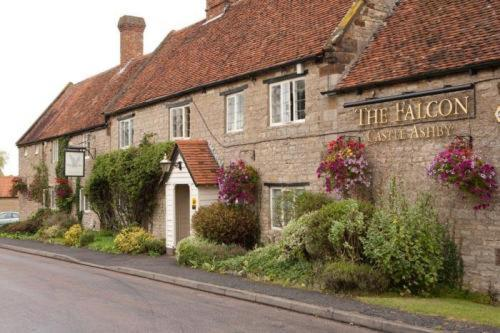 The Falcon Hotel in Ecton, Northamptonshire, Central England