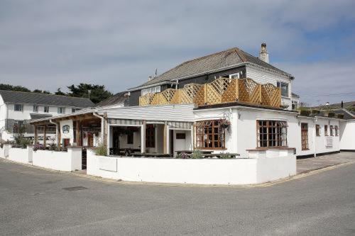 The Harlyn Inn in Padstow, Cornwall, South West England