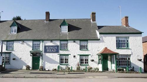 The Kings Head in Brackley, Northamptonshire, Central England