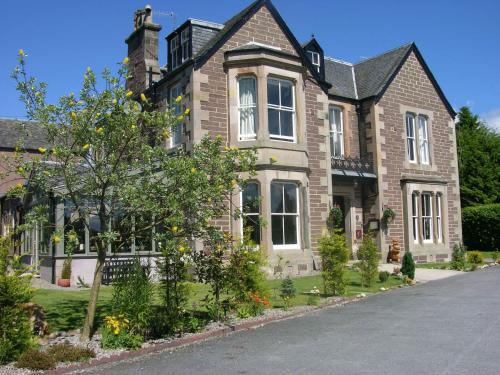 Yann's at Glenearn House in Crieff, Perth and Kinross, Central Scotland