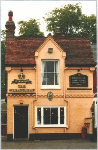 The Wheatsheaf Inn in Newmarket, Suffolk, East England