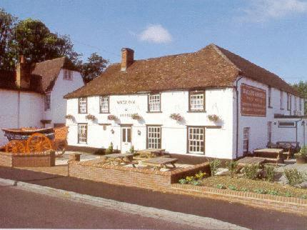 The Waggon And Horses in Clare, Suffolk, East England