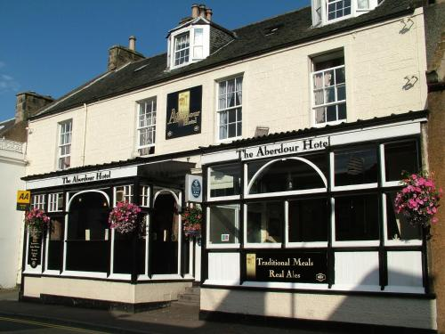 Aberdour Hotel in Aberdour, Fife, Central Scotland