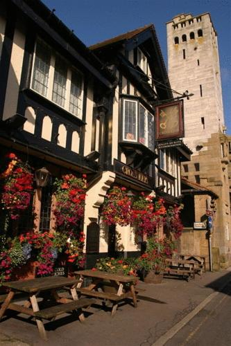 The Crosskeys Hotel in Knutsford, Cheshire, North West England