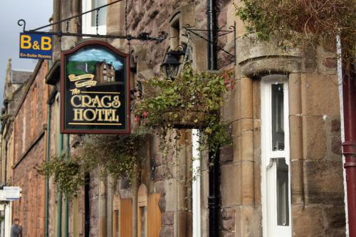 The Crags Hotel in Callander, Stirling, Central Scotland