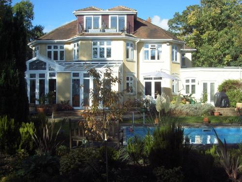 Burwood House in Camberley, Surrey, South East England