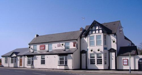The Hare & Five Hounds Hotel in West Bromwich, West Midlands, Central England