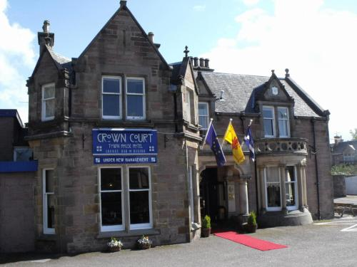 Crown Court Town House Hotel in Inverness, Inverness-shire, Highlands Scotland