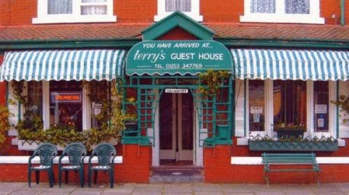 Terrys Guest House in Blackpool, Lancashire, North West England