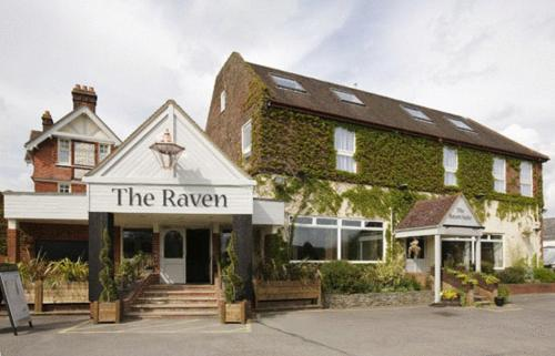 The Raven Hotel in Hook, Hampshire, South East England