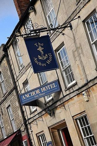 The Anchor Hotel in Frome, Somerset, South West England