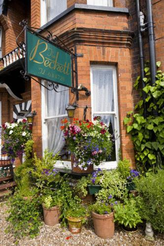 The Beckett Guest House in York, North Yorkshire, North East England