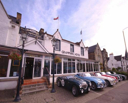 The Grampian Hotel in Perth, Perth and Kinross, Central Scotland