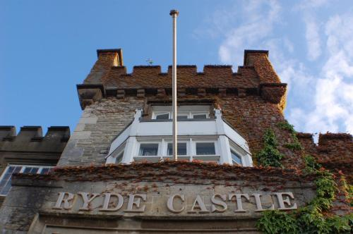 Ryde Castle in Ryde, Isle of Wight, South East England