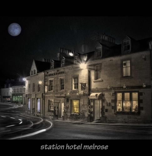 Station Hotel And Restaurant in Galashiels, Borders, Borders Scotland