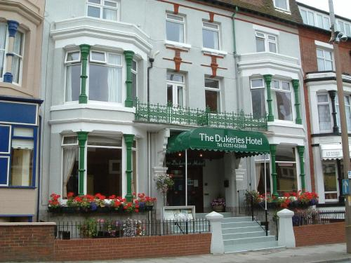 The Dukeries Hotel in Blackpool, Lancashire, North West England