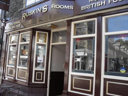 Ruskin's in Bowness-on-Windermere, Cumbria, North West England