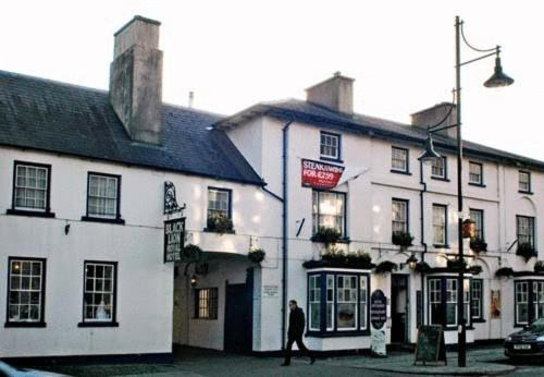 The Black Lion Royal Hotel in Lampeter, Dyfed, South Wales