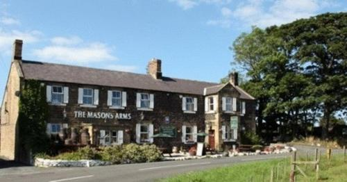 The Masons Arms in Alnwick, Northumberland, North East England