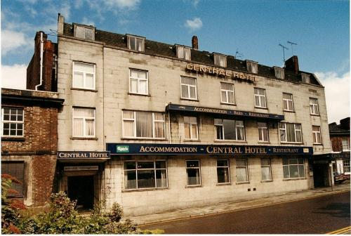 Central Hotel in Birkenhead, Merseyside, North West England