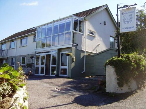 Panorama Guest House in Penzance, Cornwall, South West England