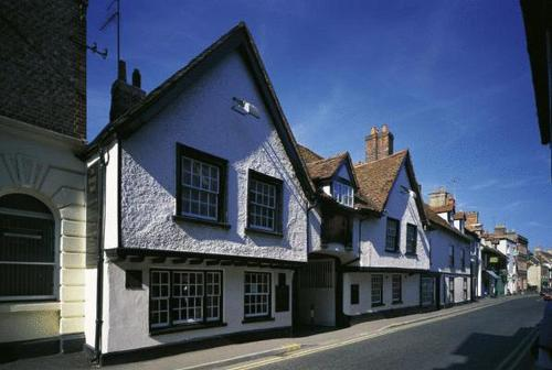 The George Hotel in Wallingford, Oxfordshire, Central England