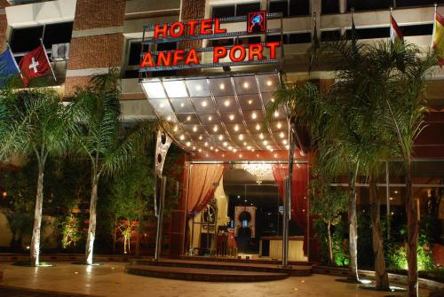 Hotel Anfa Port Photo