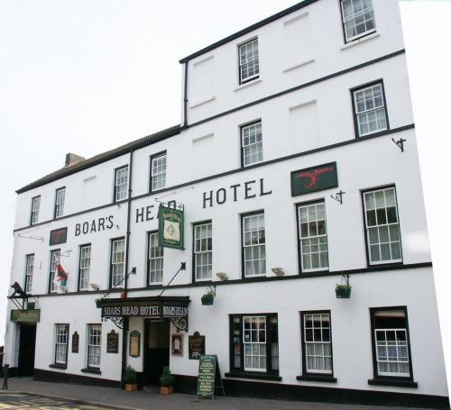 Boars Head Hotel in Carmarthen, Dyfed, South Wales