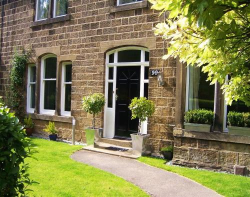 The Thyme House in Haworth, West Yorkshire, North East England