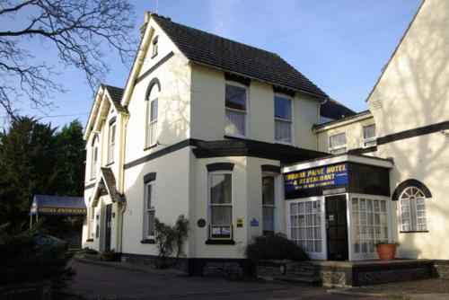 The Thomas Paine Hotel in Thetford, Norfolk, East England