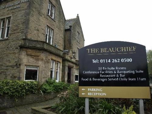 The Beauchief Hotel in Lower Bradway, South Yorkshire, North East England