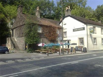 The Boathouse Hotel in Matlock, Derbyshire, Central England