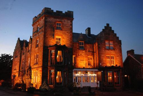 The Glenfarg Hotel in Glenfarg, Perth and Kinross, Central Scotland