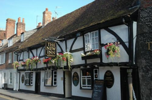 The New Inn in Salisbury, Wiltshire, South West England
