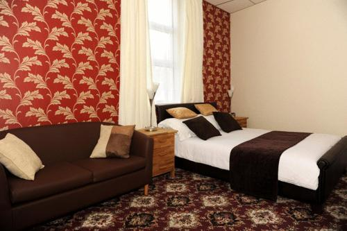 New Phildene Hotel in Blackpool, Lancashire, North West England