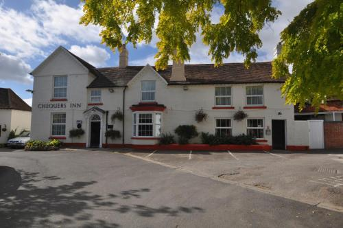 Chequers Inn in Pershore, Worcestershire, West England