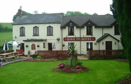 Olway Inn in Usk, Monmouthshire, South Wales