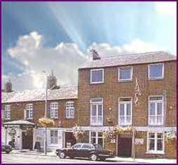 The Naseby Hotel in Kettering, Northamptonshire, Central England