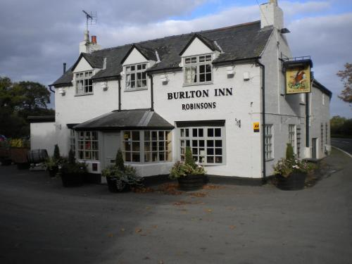 Burlton Inn in Burlton, Shropshire, West England