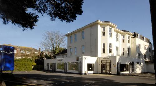 The Mayfair Hotel in Bournemouth, Dorset, South West England